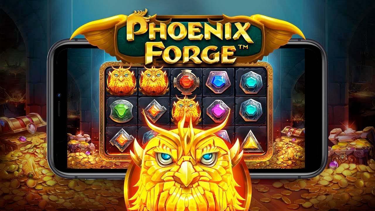 Screenshot of the Phoenix Forge slot by Pragmatic Play